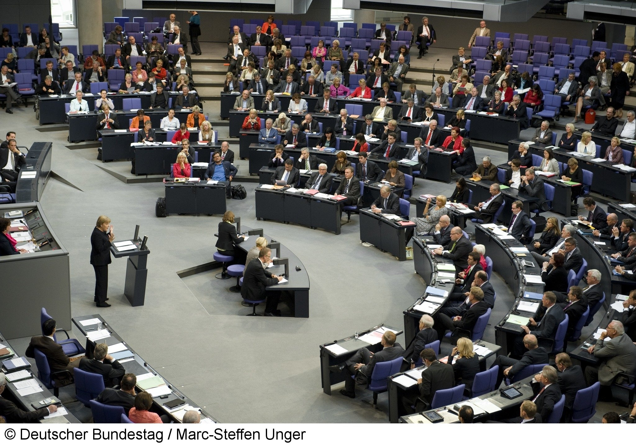 Deutscher Bundestag / Marc-Steffen Unger