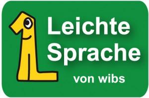 Leichte Sprache Logo von Wibs