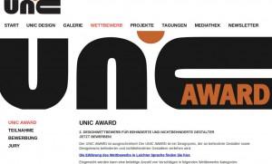Bildschirmfoto von unic-design.de