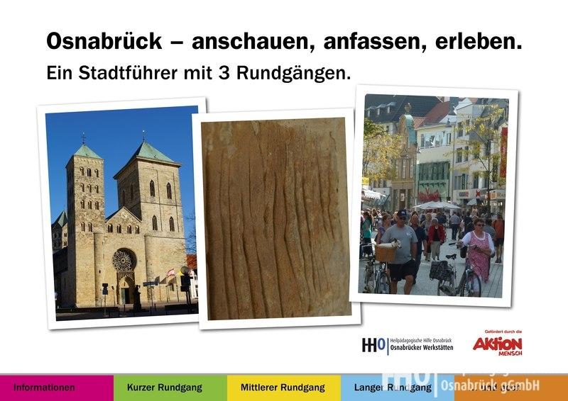 Vorderseite vom Stadtführer Osnabrück