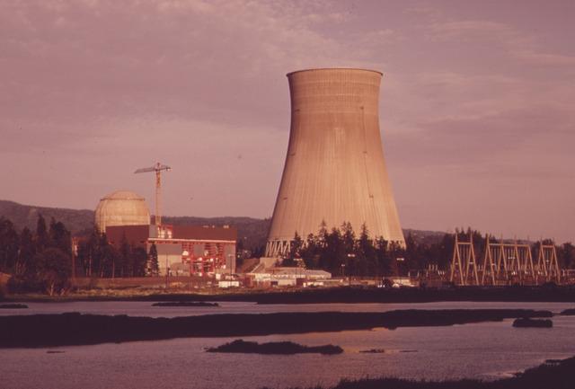 Beispiel-foto von einem Atom-kraft-werk